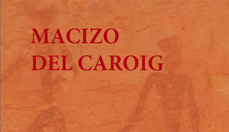 Guided cave art tours at the Caroig Massif