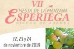 Feria de la manzana esperiega 2019