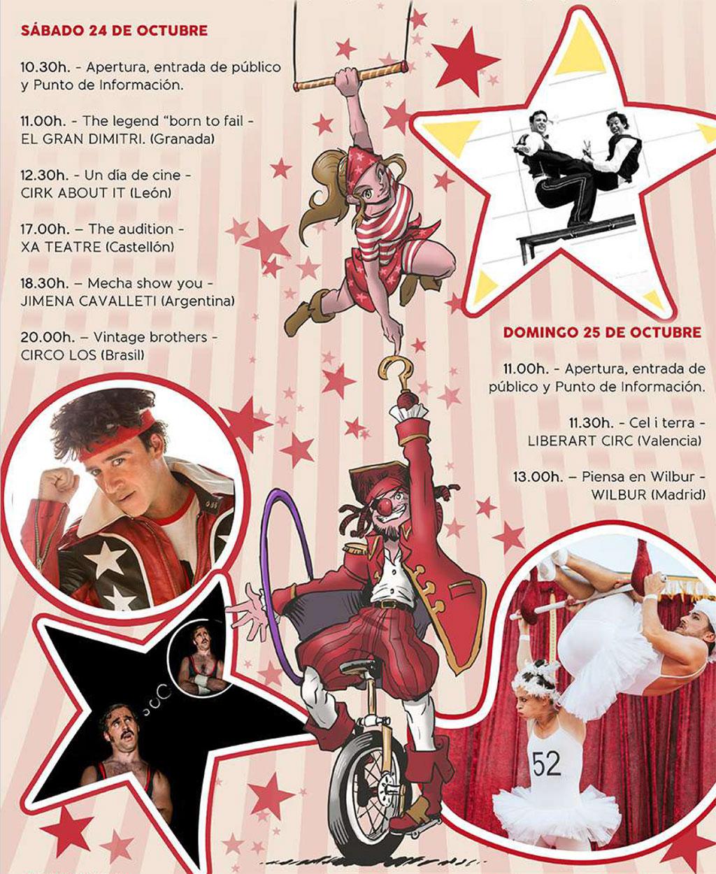 Festival de Circo VorAmar 2020: Программа