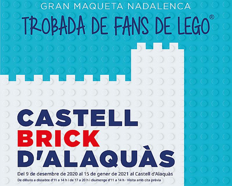 Exposición de Lego El Castell Brick en Alaquàs