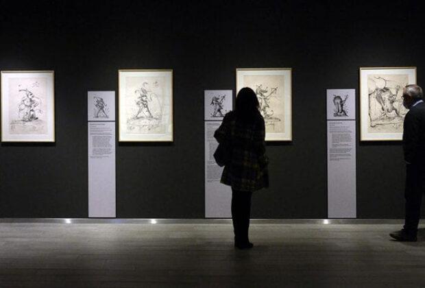 Exposición Dalí. Litografías de los excesos pantagruélicos